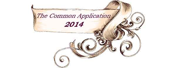 Changes to the Common Application 2014